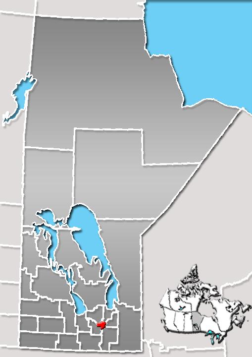 Winnipeg, Manitoba Location