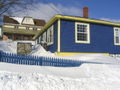 Winter in saint-pierre, SPM, blue house.JPG