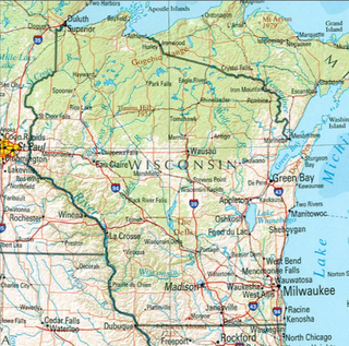 Geography of Wisconsin