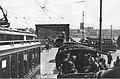 Wjazd na most Kierbedzia II wojna światowa.jpg