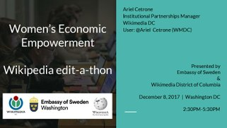 Women's Empowerment Edit-a-thon Embassy of Sweden and Wikimedia DC 2017.pdf