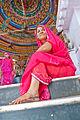 Women in a Temple in Bundi 10.jpg