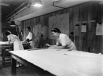 Ceylon in World War II - Image: Womens Royal Naval Service in Ceylon, 1943 A21442