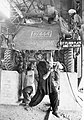 Workers at an Indian railway workshop now employed in the construction of armoured vehicles, 1942.jpg