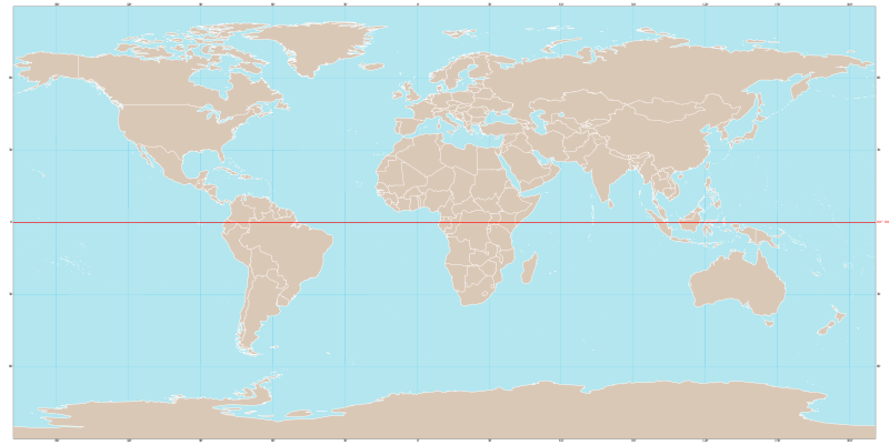 World map with equator.svg