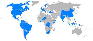 World operators of the Beechcraft Model 18