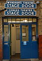 Wyndhams Theatre London stage door.jpg