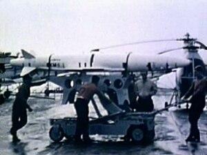 ASM-N-8 Corvus - Image: XASM N 8 Corvus at China Lake c 1958