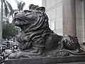 XH XinHui 信合大廈 Shun Hop Building Sculpture line 01.JPG