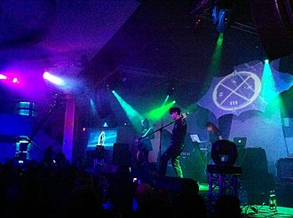 Clan of Xymox - Clan of Xymox live at Triton Music Festival New York City, 2010