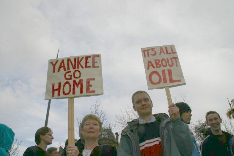 Yankee go home Liverpool