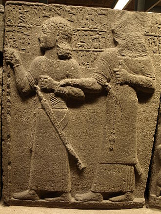 Carchemish - Yariri (r.) and Kamani (l.), resp. regent and future-ruler of Carchemish