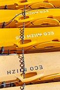 Yellow kayaks, Akaroa, Canterbury, New Zealand.jpg
