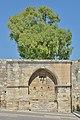 Yenitsar Agha fountain on the Venetian walls Heraklion.jpg