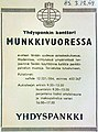 Yhdyspankki advertisement in Helsingin Sanomat December 3 1959 low resolution.jpg