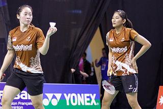Tiara Rosalia Nuraidah Badminton player