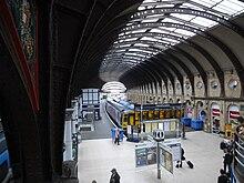 York Railway Station Platform Map York railway station   Wikipedia