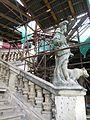 Zámek Veltrusy, schodiště v rekonstrukci (2).jpg