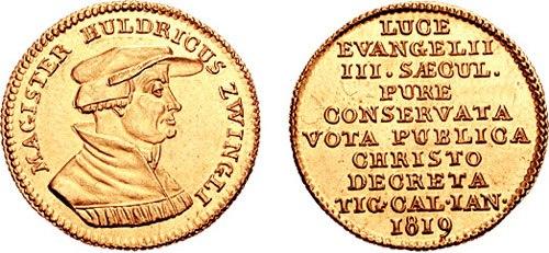 Zürich Ducat Zwingli 681738