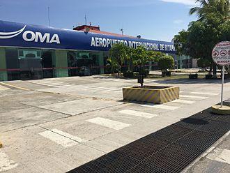 Ixtapa-Zihuatanejo International Airport - Airport's Air side.