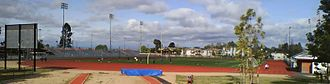 Louis Zamperini - Zamperini Stadium at Torrance High School