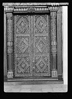 Zanzibar. Elegantly carved Arab doorway, in former Sultan's palace LOC matpc.17675.jpg