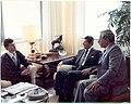Zaslavskiy, Frumkin, Reagan.jpg