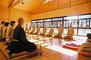 Zazen au Centre Européen du Zen Rinzai