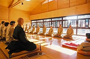 Zazen - Zazen in Rinzai school