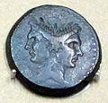 Zecca siceliota, asse di sesto pompeo, 39 ac. ca, bibli apost. vaticana.JPG