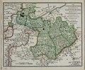 Zentralbibliothek Solothurn - DER IN MILITARDEPARTEMENS ABGETHEILTE CANTON BASEL Darauf die zur NEUTRALITÄTSBEHAUPTUNG AUSGESTELLTE WACHTPOSTEN bemerkt sind 1792 - aa0331.tif