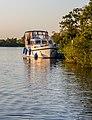 Zicht vanaf het water op de Alde Feanen van het It Fryske Gea. Waardevol natuurgebied in Friesland 32.jpg