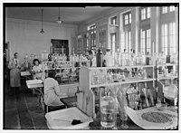 Zionist activities in Palestine. The Hebrew University. Chemistry laboratory. LOC matpc.02659.jpg