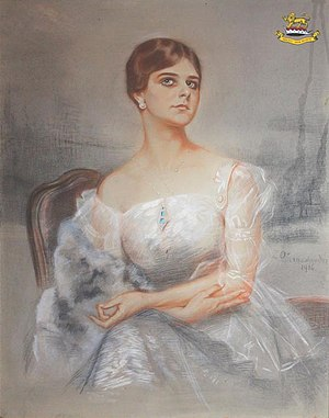 Zofia Atteslander - Image: Zofia Atteslander Portret kobiety 1916