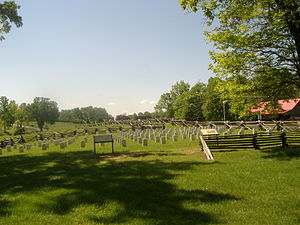 Confederate Mass Grave Monument in Somerset - Image: Zollicoffer Park Cemetery