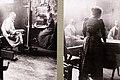 Zorn - Emma Zorn i Parisateljén för Zorn och Maurice Faure, c 1892, foto.jpg