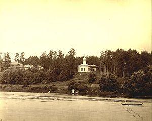 Žvėrynas - View of Žvėrynas in 1873-1881