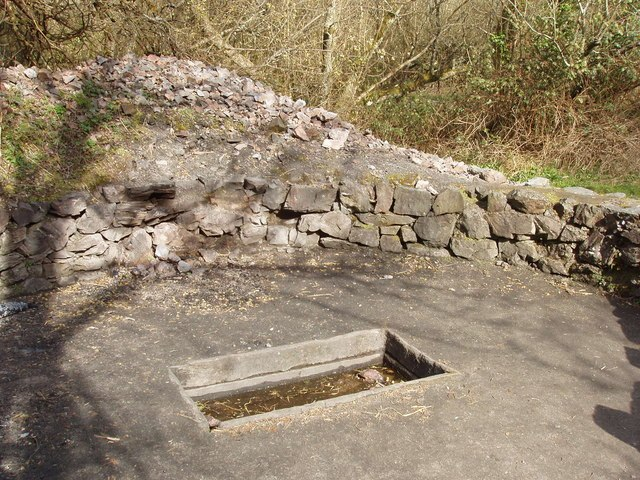 """""""Fulacht Fiadh"""" cooking pit, Irish National Heritage Park - geograph.org.uk - 1255093"""