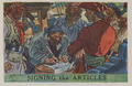 """Signing the Articles"" from the 1936 Pac-Kups ""Jolly Roger Pirates"" trading card set.png"