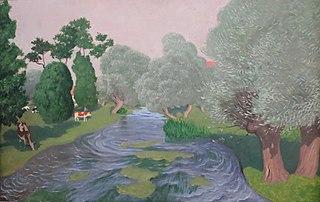Landscape. Arcques-la-Bataille