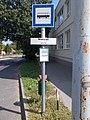 'Marcali, iskola' bus stop, 2020 Marcali.jpg