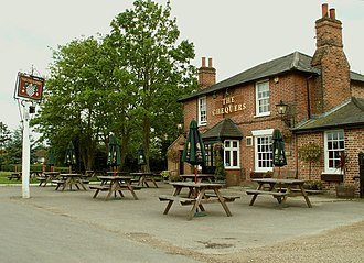 Matching, Essex - Public House facing the green at Matching Green