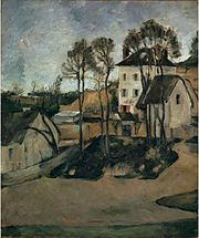 'The House of Dr. Gachet, Auver-sur-Oise' by Paul Cézanne, 1873.jpg