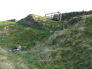 Milecastle 33 - Image: (All that remains of) Milecastle 33 geograph.org.uk 592666