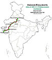 (Porbander - Delhi Sarai Rohilla) Express Route map.jpg