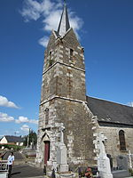 Clocher de l'église de Chèvreville