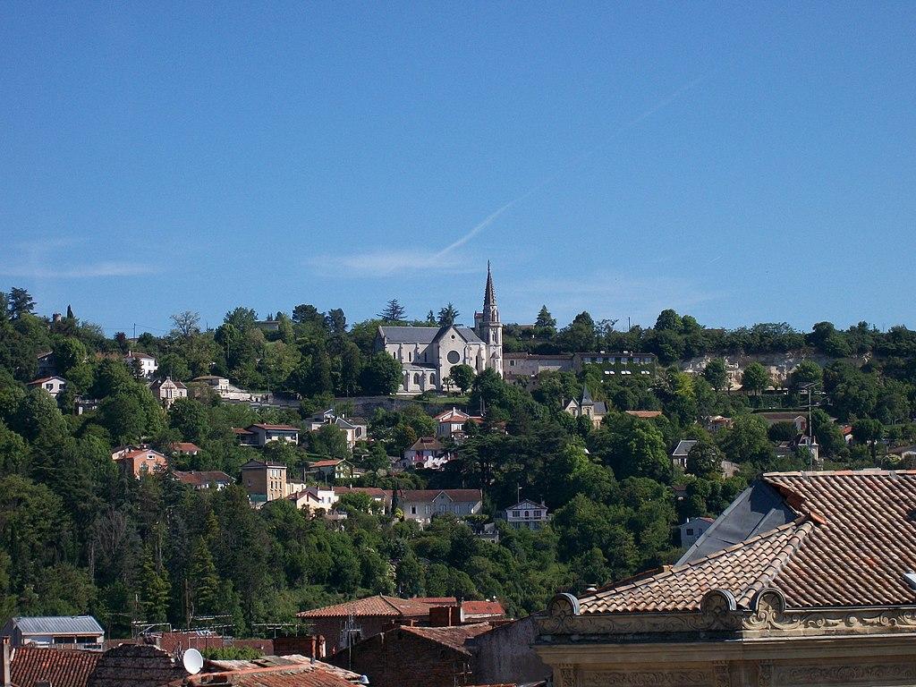 Agen France  city images : Église de l'Ermitage Agen, France Wikimedia Commons