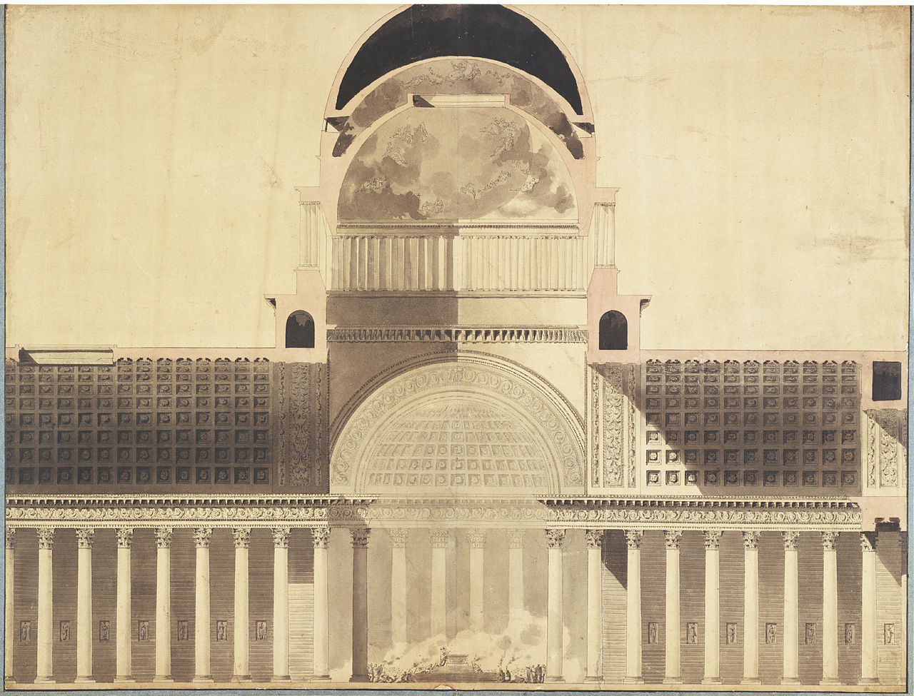 File 201 Tienne Louis Boull 233 E Architectural Project For The