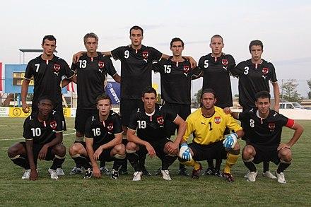 oostenrijks voetbalelftal onder 21 wikipedia