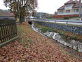 Číhalínský stream in Číhalín, Třebíč District.JPG